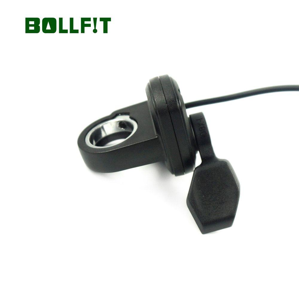 BOLLFIT Freies shipphing 108X-L Daumen-drossel Links hand Bafang Für Elektrische Fahrrad Gas 3pin BAFANG BBS01 BBS02 BBSHD
