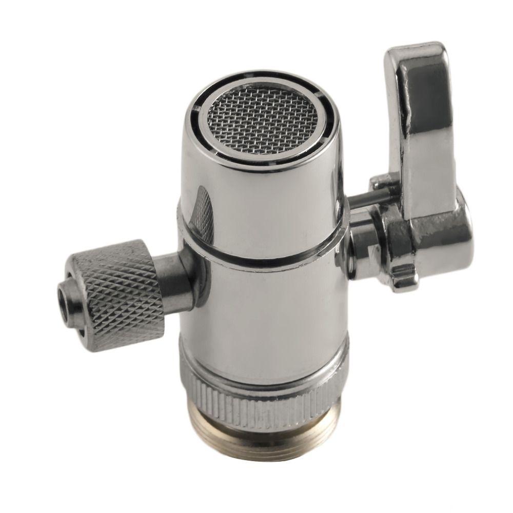 Neue PV10 Chrome Messing Poliert Umsteller für Küche oder Bad Waschbecken Wasserhahn Ersatzteil M22 X M24