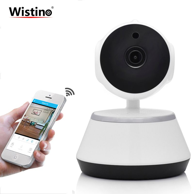 CCTV <font><b>720P</b></font> WiFi Mini Baby Monitor Wireless IP Camera PTZ P2P Indoor Surveillance Security Camera Home Video Monitor Night Vision