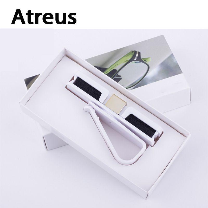 Atreus Car Sun Visor Clip Holder Glasses Interior Accessories For Mercedes benz W204 W203 W211 AMG Mini cooper Skoda octavia a5