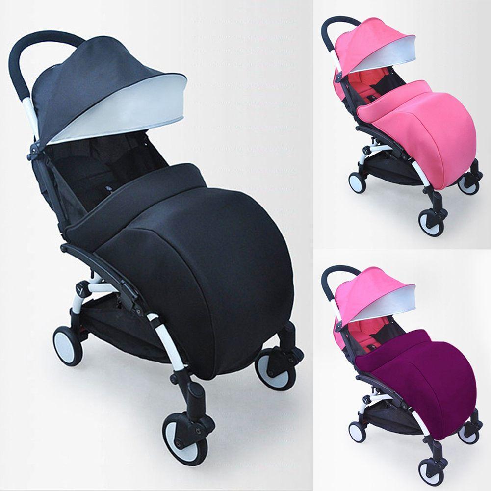 Universal cochecito Accesorios caliente 300d tela y algodón caliente bebé cochecito pie Muff buggy cochecito Pram pie cubierta