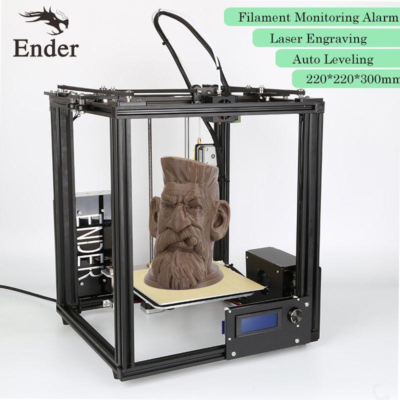 2018 Ender-4 3D printer Auto Leveling,Laser Engraving,Filament Monitoring Alarm Protection Reprap Prusa i3 Printer 3D n Filament
