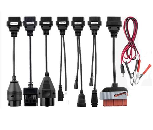 8pcs per set car cable for VD TCS cdp pro plus cables car for multidiag pro and WOW SNOOPER for delphis for autocome