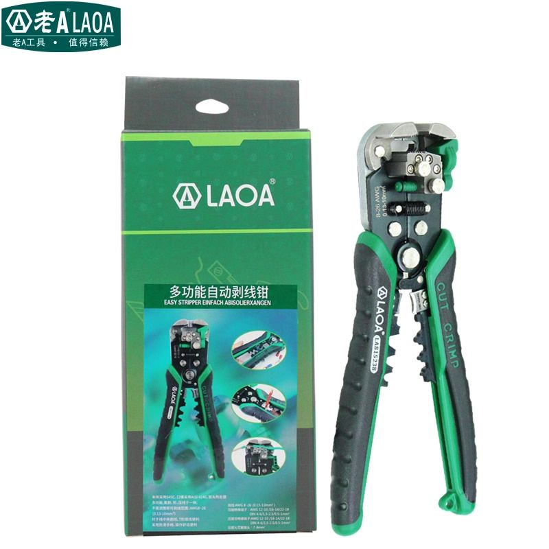 LAOA Brand Automatic wire stripping Professional electrical wire stripper High Quality wire stripper