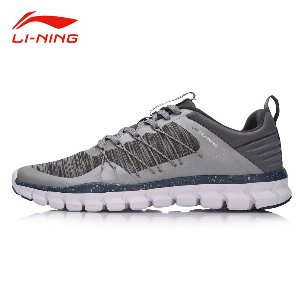 Li-Ning Men 24H Light Flexible Training Shoes Drawstring Support Breathable Sneakers LiNing Comfort Fitness Sports Shoes AFHM027