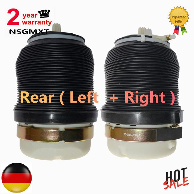 Rear Air Spring Shock Absorbers for Audi A6 (C6/4F) Allroad Quattro S6 Avant 2005-2011 - New 4F0616001 / 4F0616001J Left+right
