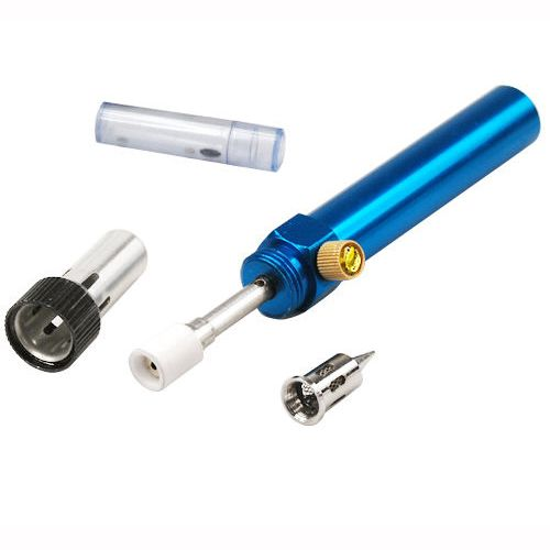 2016 neue Neue Blau Cordless Nachfüllbar Butan Gas Lötkolben Stift form Werkzeug Kit