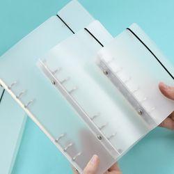 JIANWU MUJI STYLE Une variété de mat liant lâche sangle lâche feuille intérieure core A6 A7 cahier journal a5 planificateur bureau fournitures