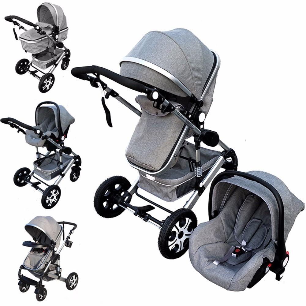 Baby Stroller 3 In 1 Kids Pram Car Seat Stroller For New Newborns kinderwagen bebek arabasi