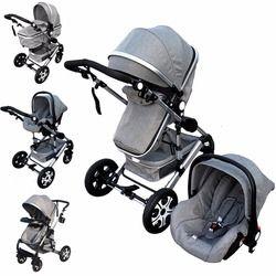 Cochecito de bebé 3 en 1 niños cochecito del asiento de coche para nuevo recién nacidos kinderwagen bebek arabasi