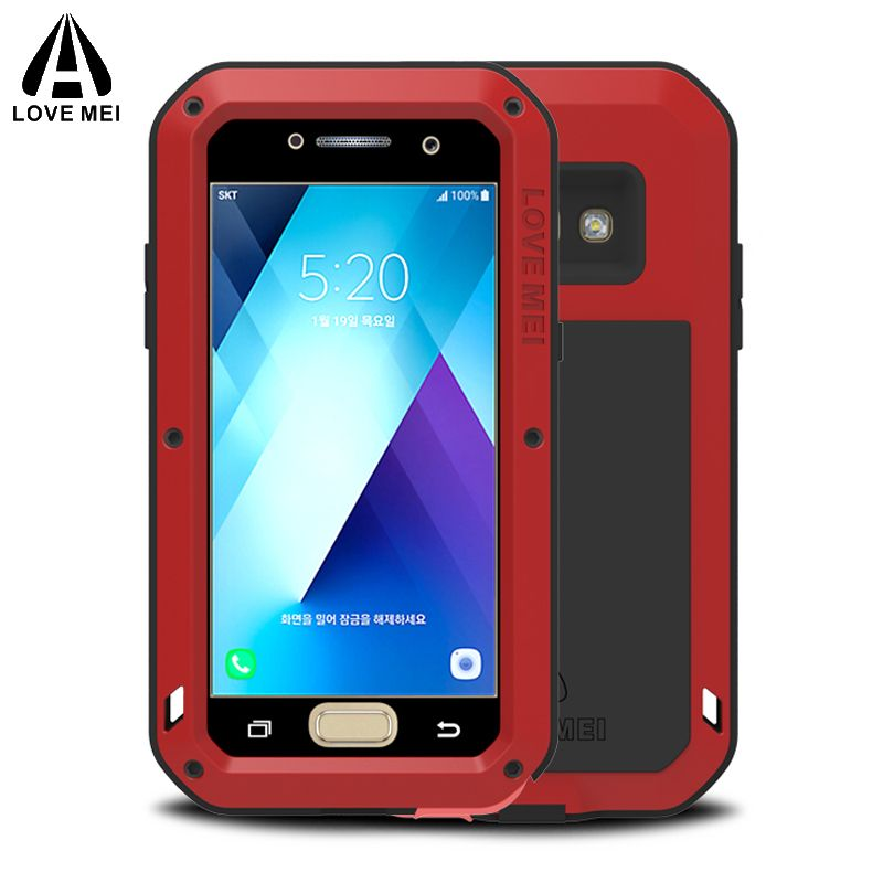 sFor Samsung A5 2017 Case Shockproof Luxury Aluminum Metal Armor sFor Samsung Galaxy A5 2017 Case For Samsung Galaxy A5 2017