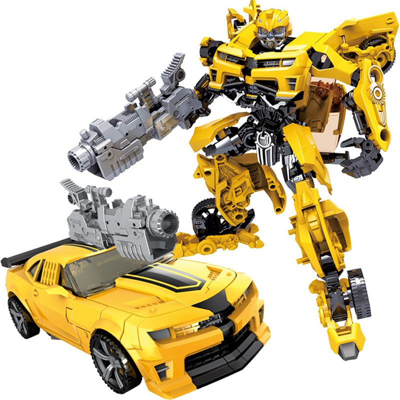 Children Robot Toy Transformation Anime Series Action Figure Toy 2 Size Robot Car ABS Plastic <font><b>Model</b></font> Action Figure Toy for Child