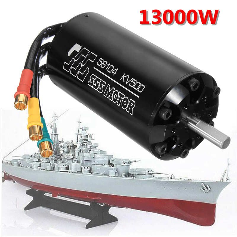 SSS 56104/500KV Brushless Motor 6 Poles For RC Marine Boats Electric Surfboard
