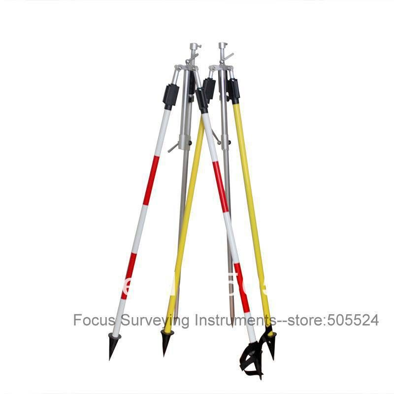 CLS12 Prism Pole Bipod with Case for Total Station