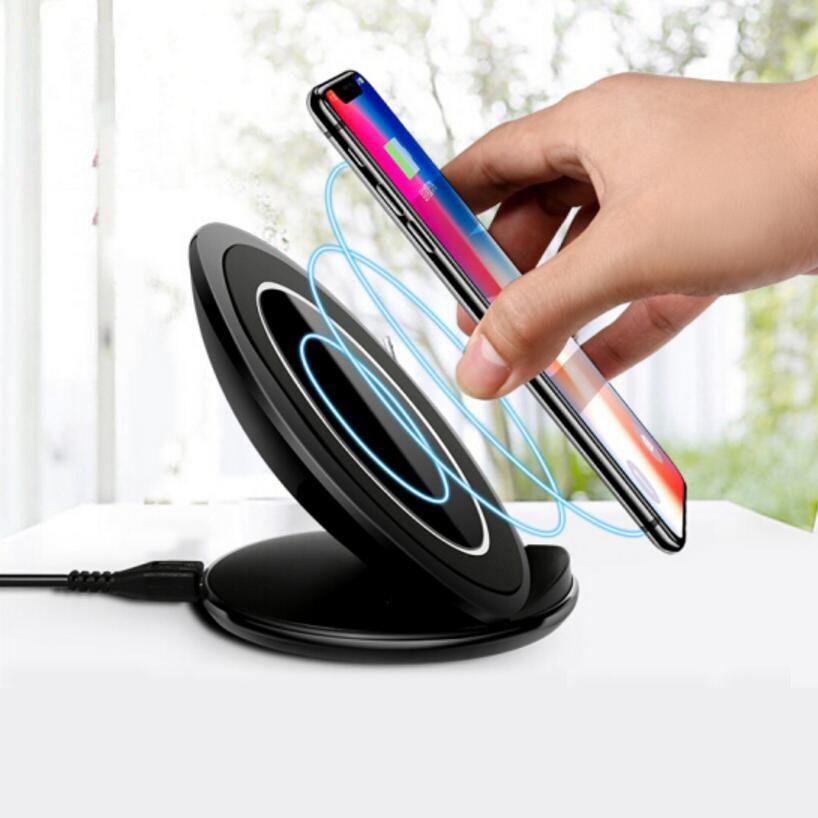 D'origine eAmpang 10 w Qi Rapide Sans Fil Chargeur pour Samsung Galaxy S7 bord S8 S9 Plus Note 9 8 5 apple iPhone X XS Max XR 8 Plus