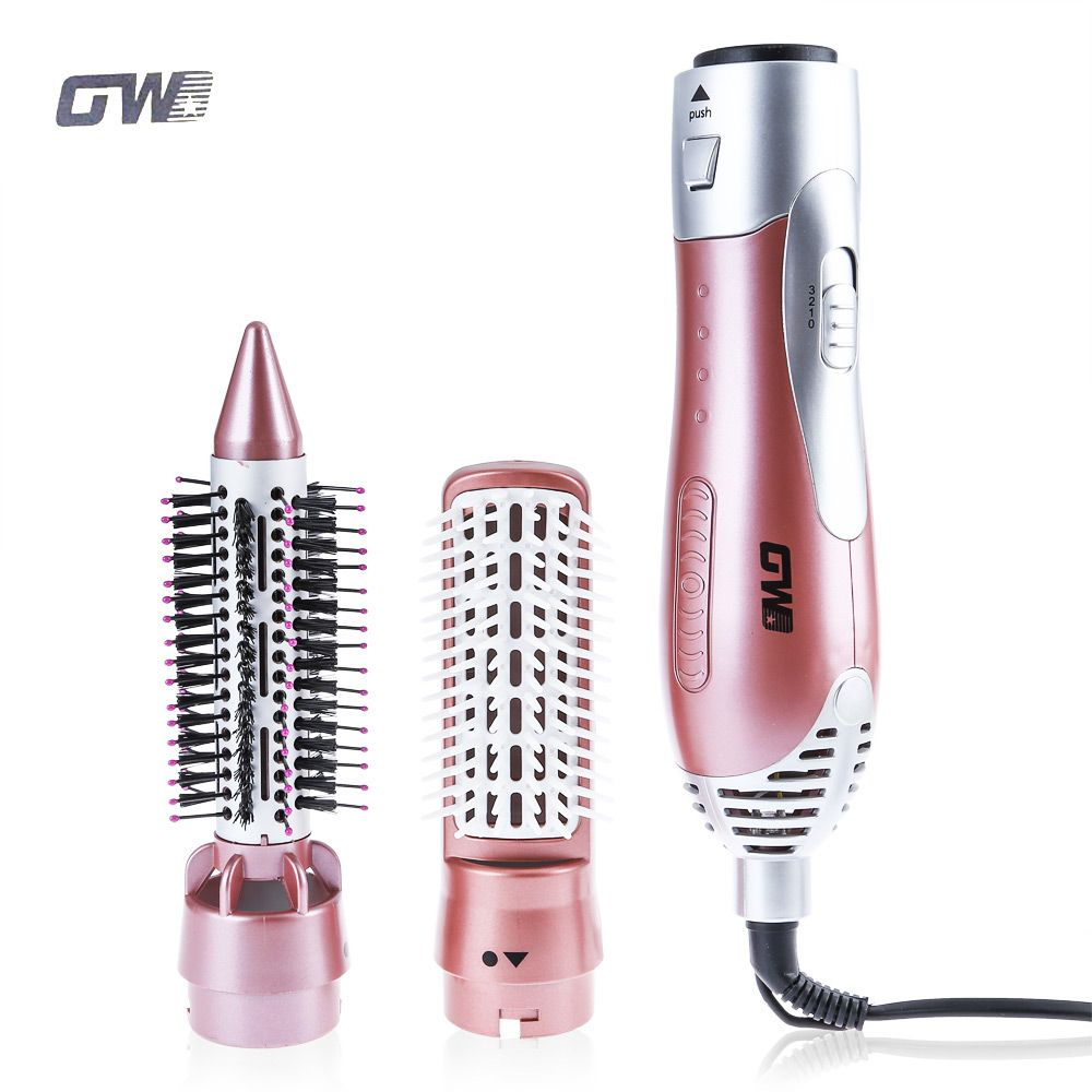 GUOWEI GW Professional Hair Dryer Machine Comb 2 in 1 Multifunctional Hair Dryer Hair Styling Tools Set Hairdryer Travel Home