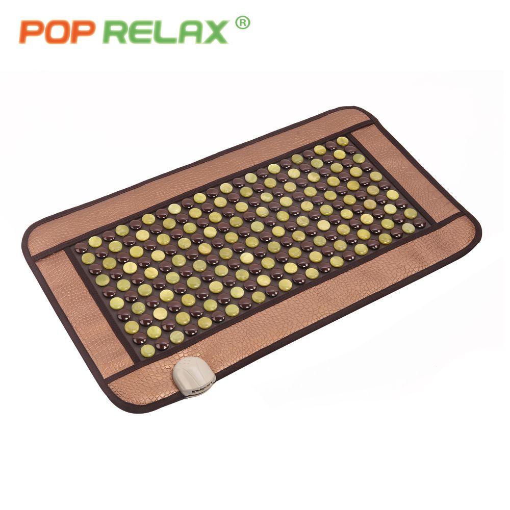 POP RELAX Corée germanium matelas tourmaline jade anion thermique infrarouge électrique chauffage physiothérapie soins de santé tapis de pierre