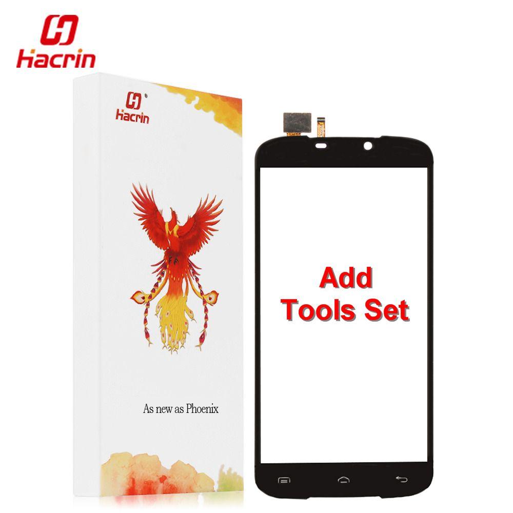 Hacrin DOOGEE X6 Pro écran tactile 100% Nouveau Numériseur Externe Panneau de Verre de Remplacement Pour DOOGEE X6 Pro 5.5 pouces téléphone