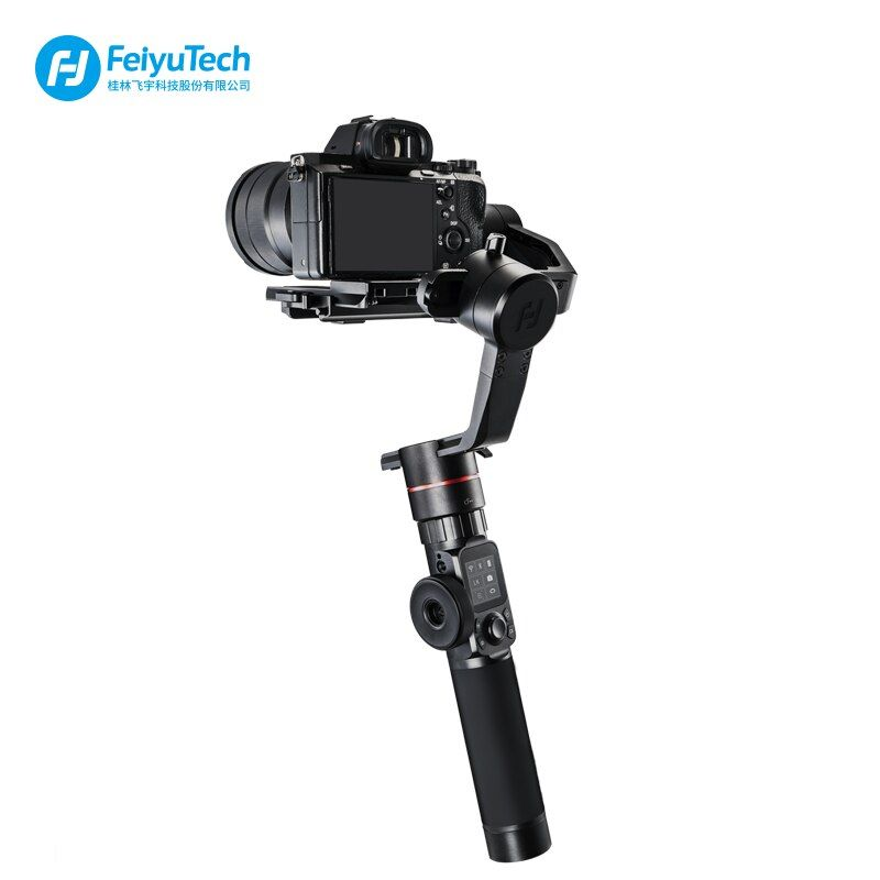 FeiyuTech Feiyu AK2000 3-Axis Brushless Handheld Camera Stabilizer Gimbal for Sony Canon 5D 6d Panasonic GH5 Nikon D850 2.8KG