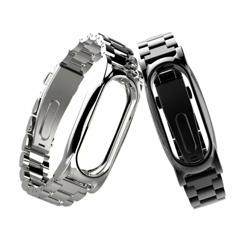 Watchband Strap For Xiaomi Mi Band 2 Magnet Stainless Steel Luxury Wrist Strap Metal Wristband Dignity Correa Venda Dropship F7