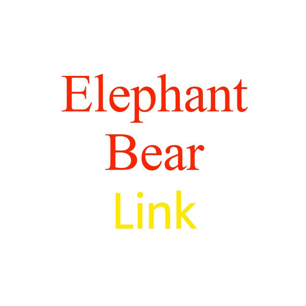 Music elephant & Bear Plush toy