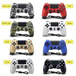 USB Filaire Gamepad Contrôleur Pour Sony Playstation 4 PS4 Controller pour PlayStation 4 Dualshock Joystick Gamepads pour PS4 Console