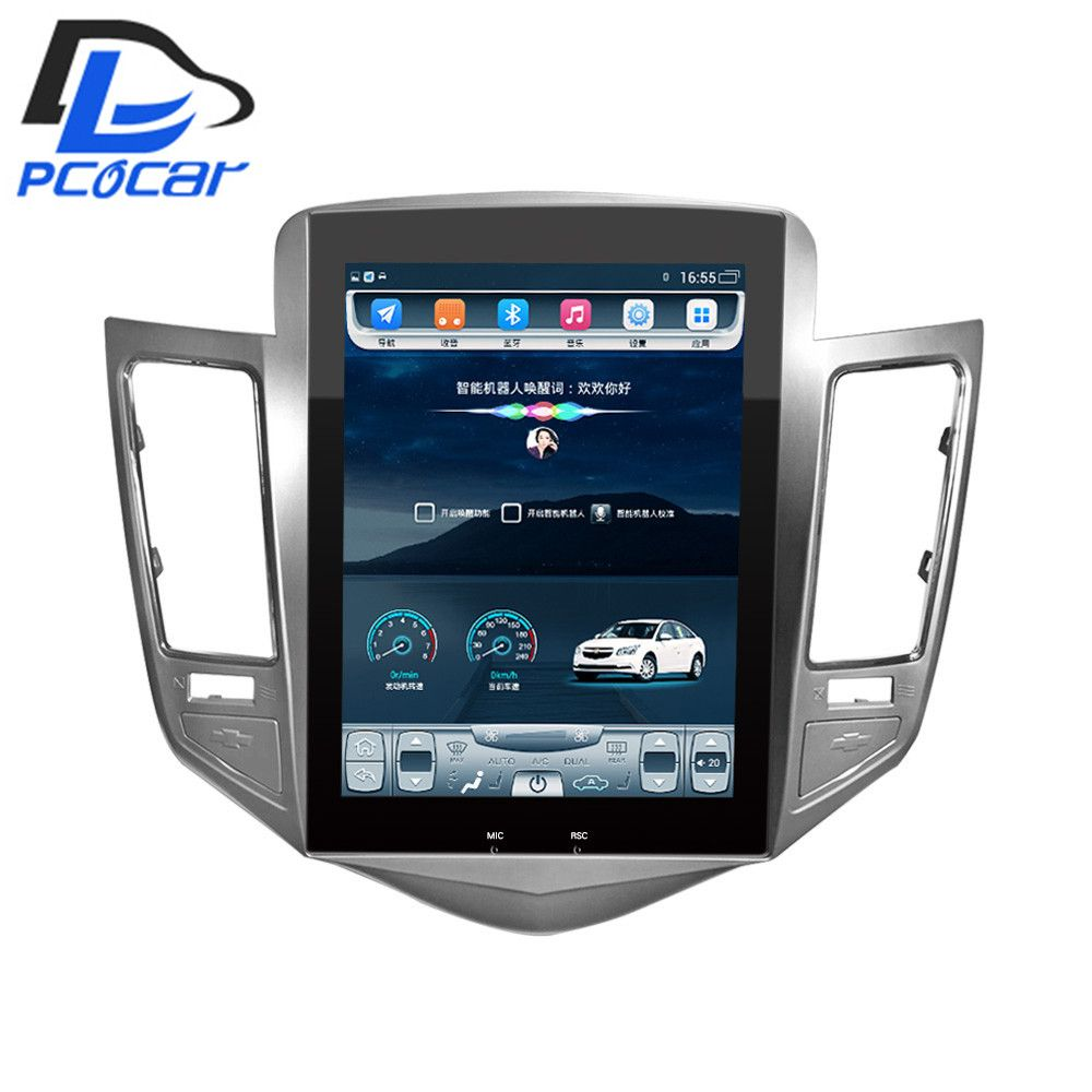 32G ROM Vertical screen android car gps multimedia video radio player in dash for Chevrolet CRUZE navigation <font><b>stereo</b></font>