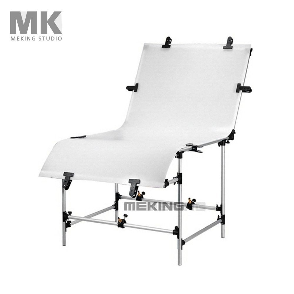 Meking Photographic Studio Photo Table Shooting Tables With Plexi Cover 1m*2m Background Shooting Board Photography Camera Desk