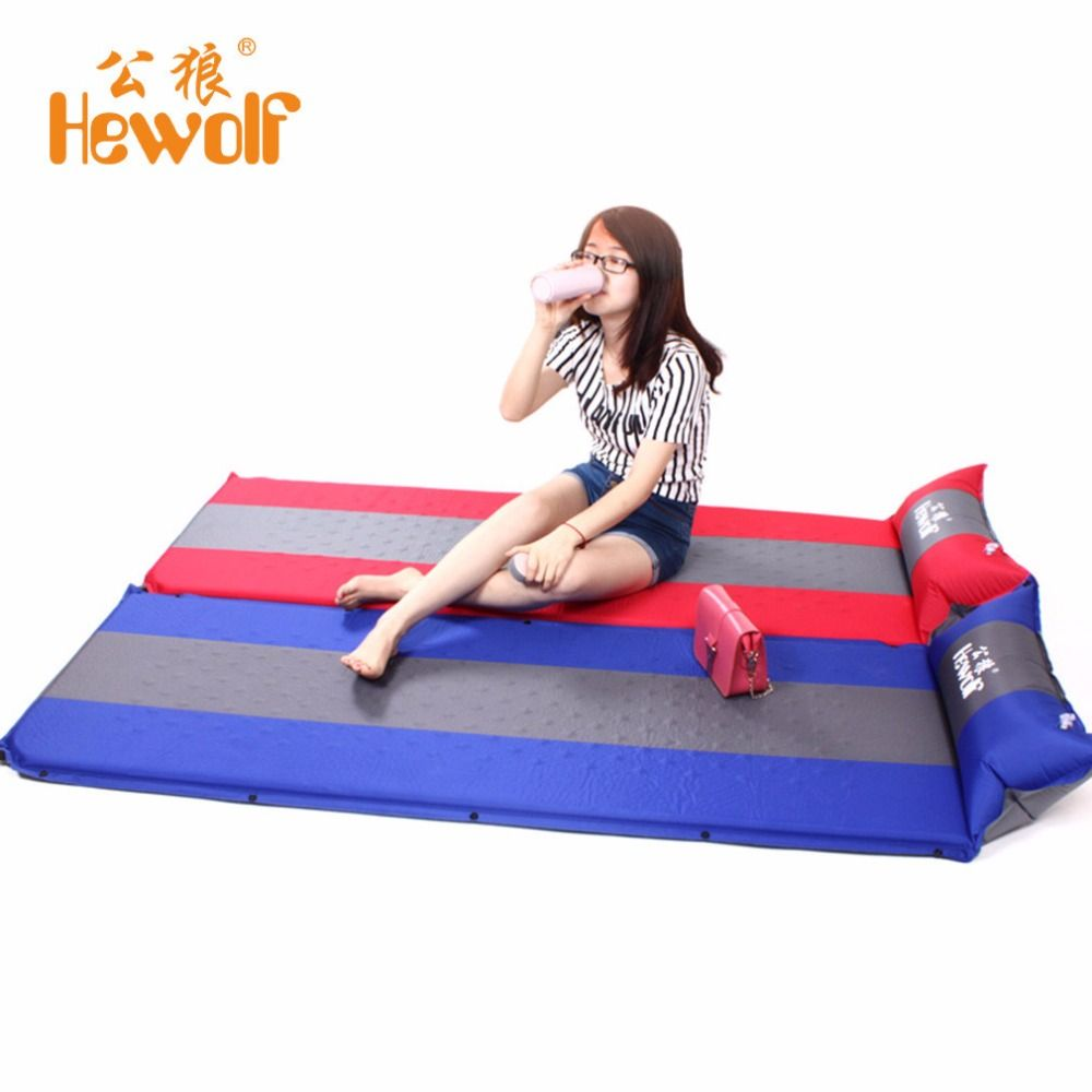 Inflatable Cushion Packer Outdoor Activities Camping Mat 1 Person Splicing Automatic Self-Inflating Tent Thickening Mat Popular