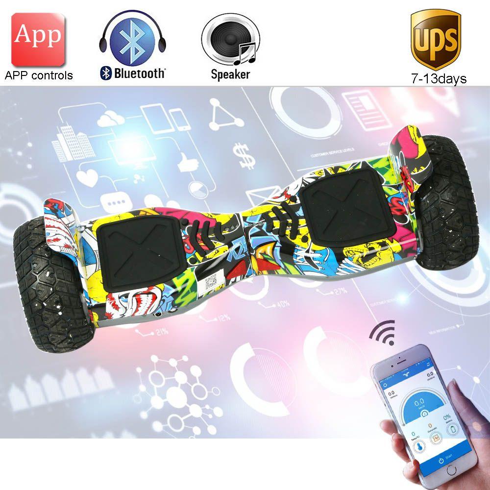 Neue Super power Hoverboard 8,5 zoll App Selbstabgleich Elektroroller Bluetooth Über Bord Oxboard 2 rad Elektrische schwebebrett