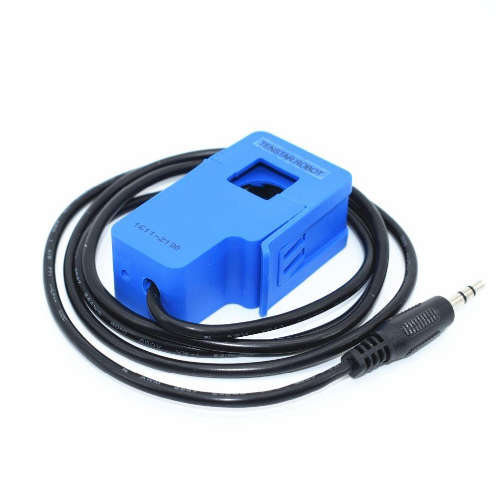 TENSTAR ROBOTER 30A SCT-013-030 Nicht-invasive AC strom sensor Split Core Stromwandler SCT-013