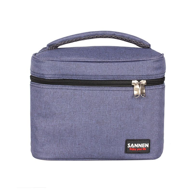 5L PEVA portátil picnic niños paquete película de aluminio preservación del calor del aislamiento bolsos más frescos aislados puede refrigerador