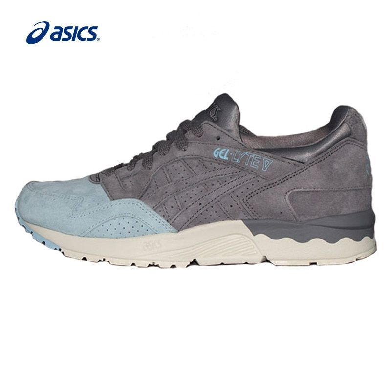 Original New Arrival ASICS Men Cushioning Retro Running Shoes Sports Outdoor Anti-Slippery Sneakers Walking Jogging H737L-9696