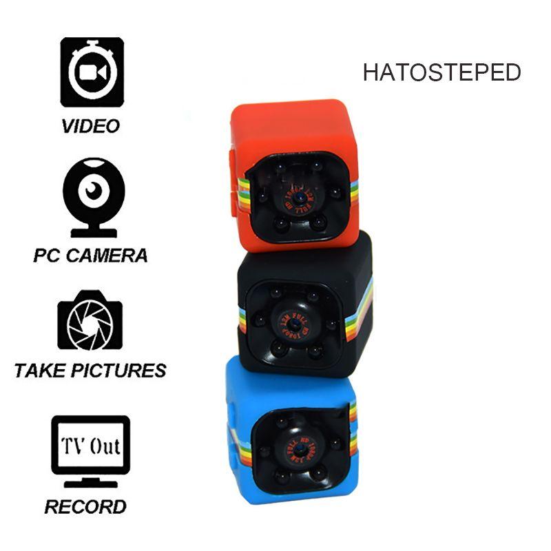 SQ11 Mini Camera 1080P Sport DV Mini Infrared Night Vision Monitor Concealed small Camera SQ 11 small camera DV Video Recorder