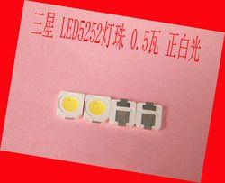 100piece/lot FOR Samsung LEDs 0.5W 3V 5252 SMD LED smt commercial lighting lighting accessories white light emitting diode