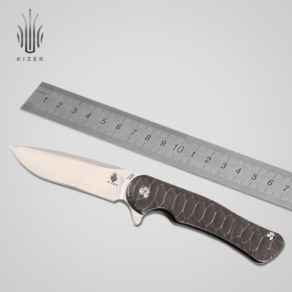 Kizer klappmesser Ki5466A2 browning taktischen Titan griff hohe qualität handwerkzeug