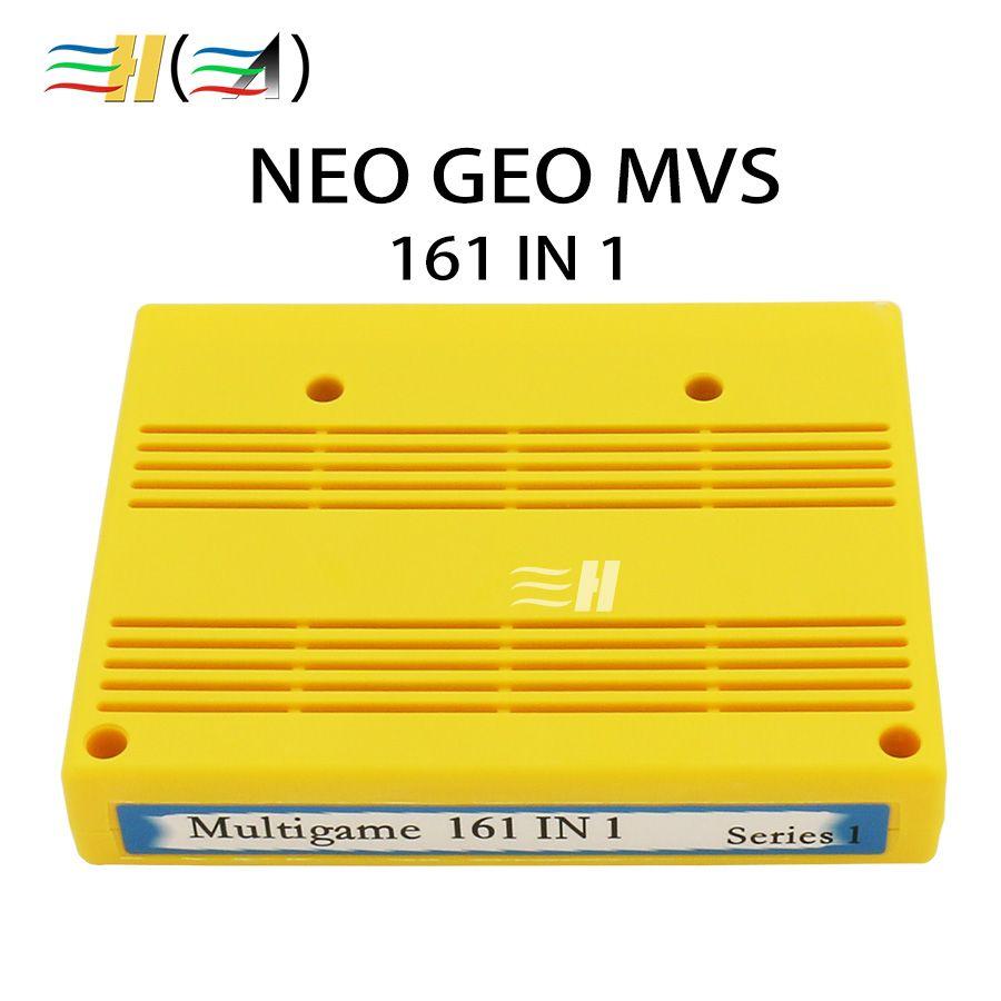 SNK 161 in 1 MVS Cart NEO GEO MVS Multi Cartridge Cassette Cartridge Neo Geo Jamma Multi Games SNK 161 in 1 Multi Game Cartridge