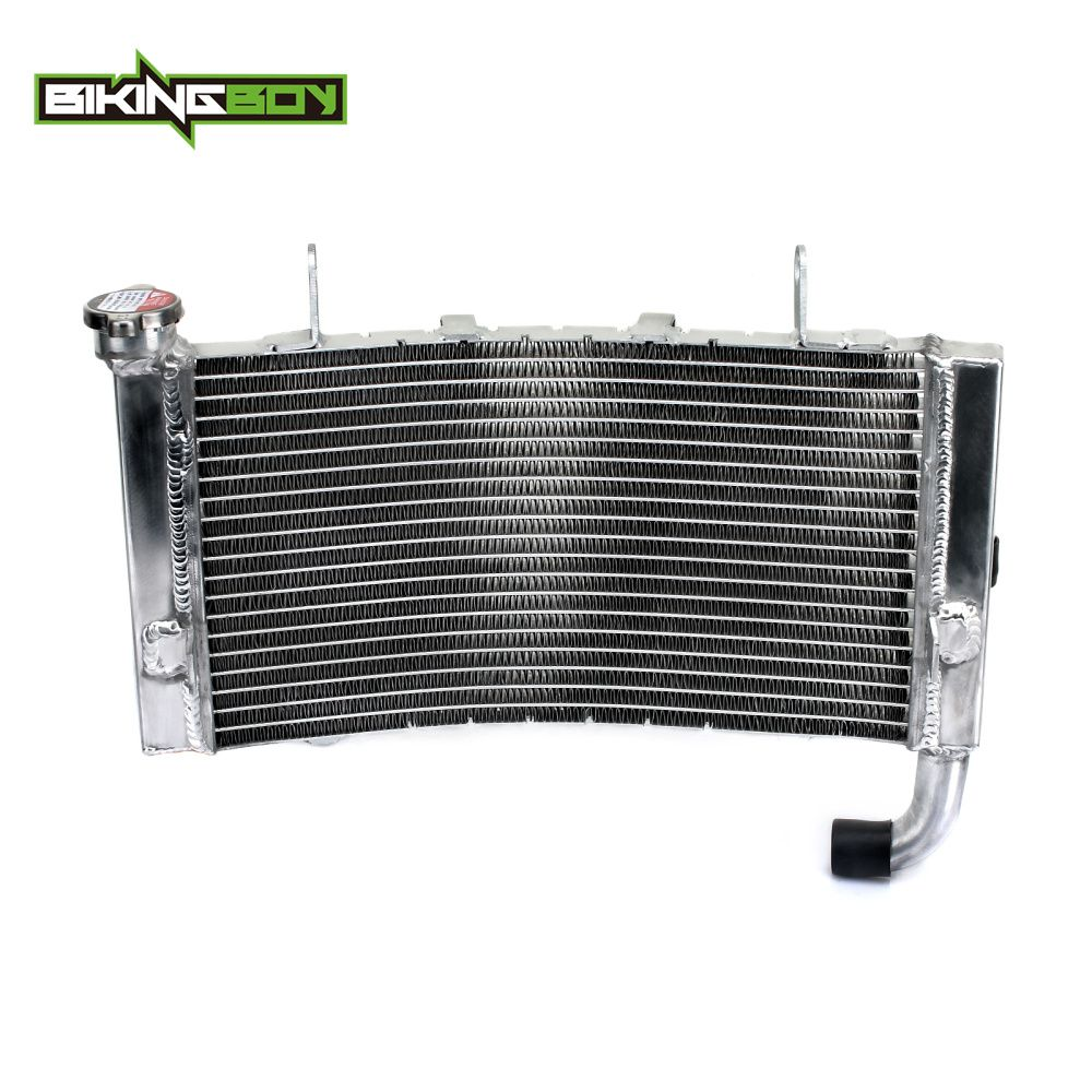 BIKINGBOY Motorcycle Aluminium Core Supermoto MX Offroad Motocross Water Cooler Cooling Radiator fit for DUCATI 749 999