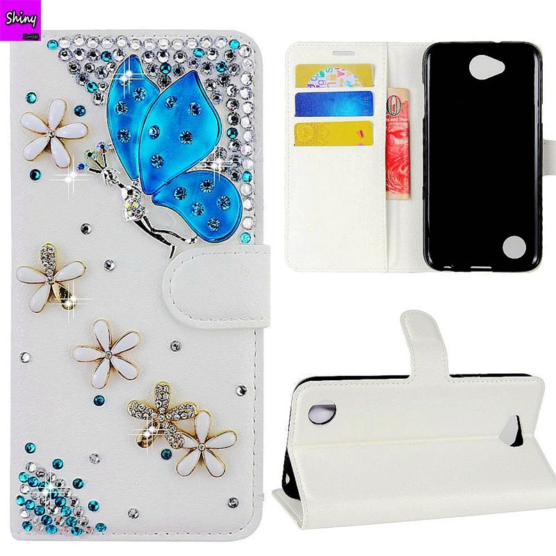 Luxury Crystal Diamond Flip Leather Phone Cover Case For Xiaomi Redmi 5 Plus 5 5A Mix2 note 5A 4 4X 5X MAX 2 Bling Wallet Case