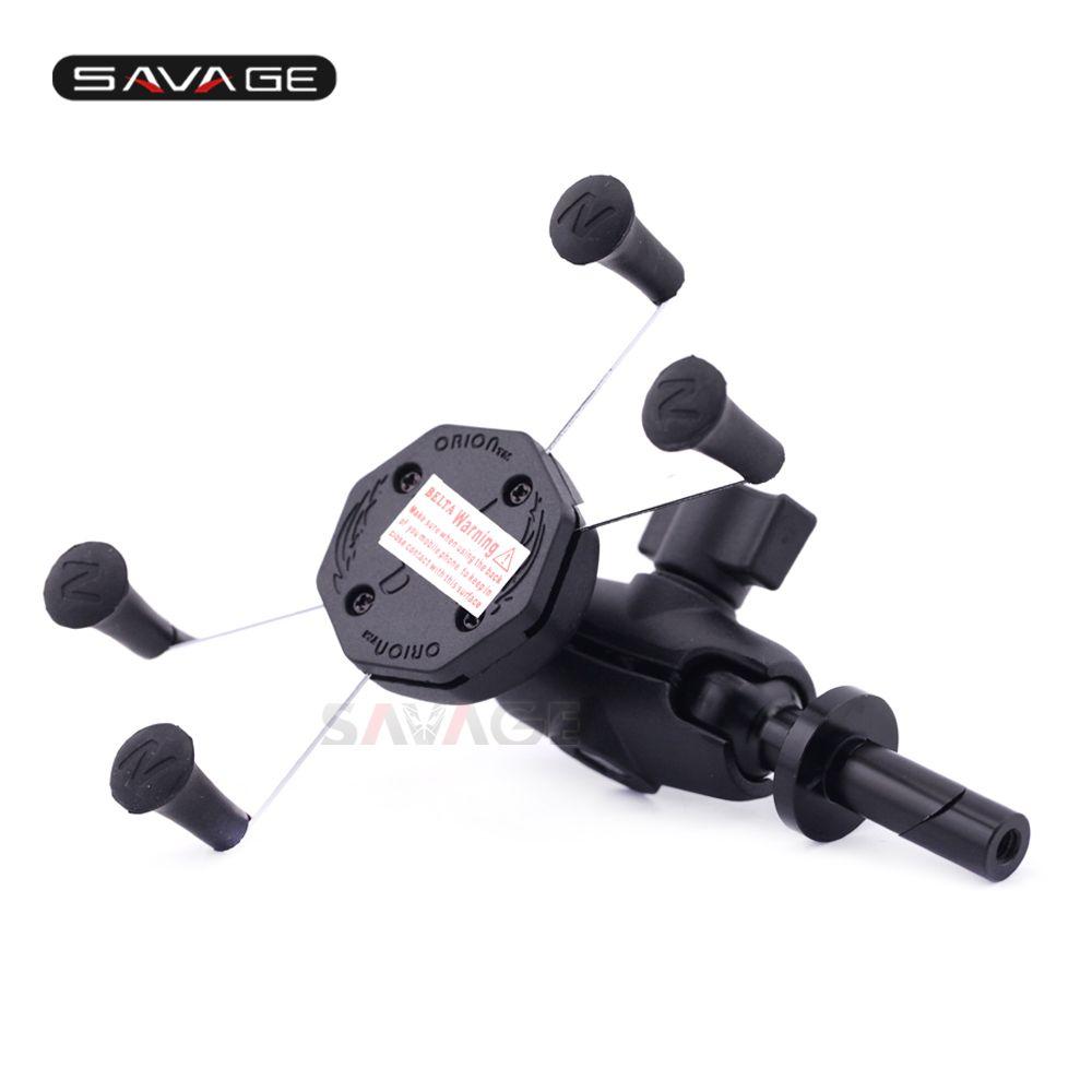X-Grip Phone Holder For SUZUKI GSX1300R HAYABUSA 08-18, GSXR 1000 05-08, GSX-R 600/750 04-05 Motorcycle GPS Navigation Bracket