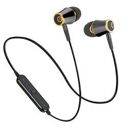 MoreBlue M64 Olahraga Bluetooth Earphone Wireless Headphone Menjalankan Sweatproof Headset Stereo Super Bass Earbud Dengan Mic