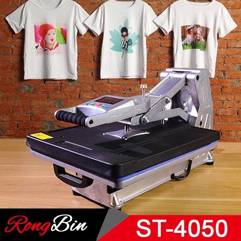 ST-4050A 40x50CM Hydraulic Press Machine T-shirt Heat Press Printer Phone Case/Bag/Puzzle/Rock/Glass/Wood Photo Sublimation