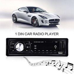 1 Din Voiture Radio Lecteur Voiture MP3 Lecteur Audio Stéréo Audio Auto Radio FM Raido Télécommande 4x50 W Soutien SD USB AUX Autoradio