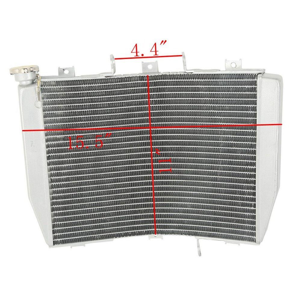 Aluminum Radiator Cooler For Kawasaki NINJA ZX6R ZX-6R 1998-2002 1999 2000 2001