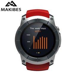 [NOUVEAU] Makibes G05 GPS Sport Montre 1.3 ''Écran Couleur Montre Smart Watch multi-sport Smartwatch Bluetooth 4.0 intégré dans la puce GPS MTK2503