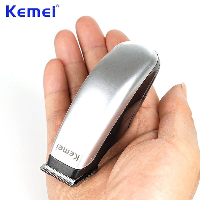 Kemei nouvellement conception électrique tondeuse à cheveux Mini tondeuse à cheveux coupe Machine barbe barbier rasoir pour hommes Style outils KM-666