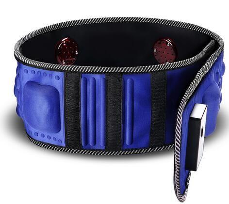 Healthsweet 220 V Vibration électrique infrarouge rayon Sauna taille minceur ceinture graisse brûlant chauffage Massage vibrateur masseur