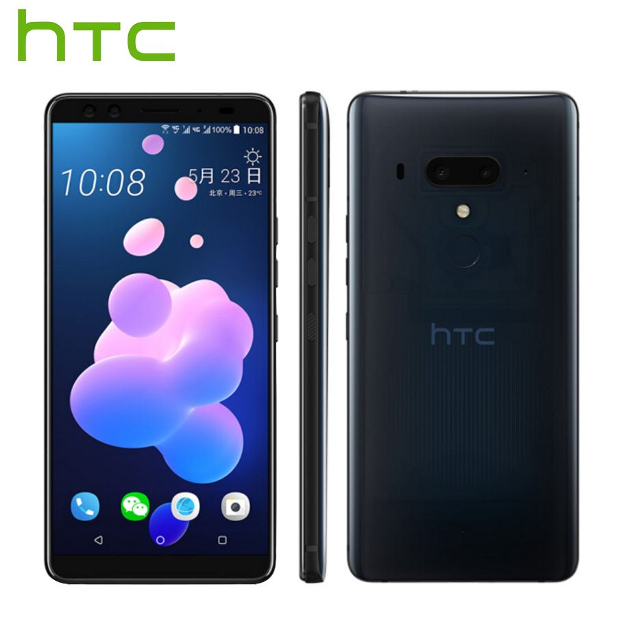 New listing HTC U12 Plus 4G LTE Mobile Phone 6GB 128GB Android 8.0 Snapdragon 845 Octa Core 6.0 inch 2K Screen IP68 Smart Phone