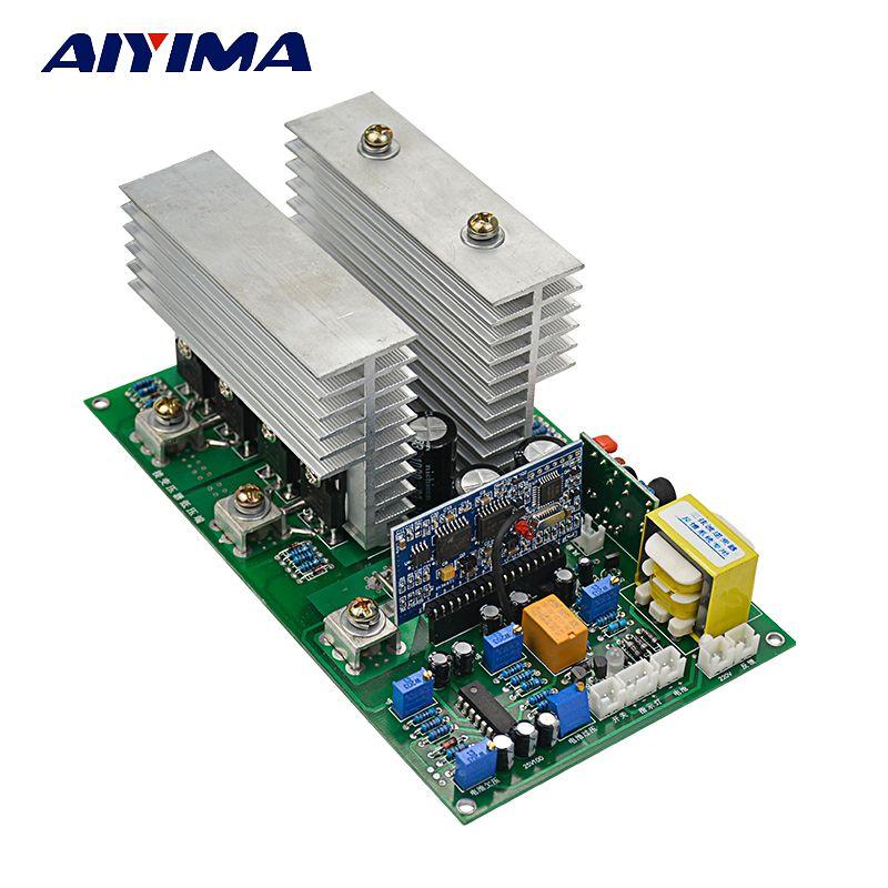 AIYIMA 1PC Pure Sine Wave Inverter Power Frequency Board DC 12V 24V 36V 48V 60V 72V 1000/2000/2800/3600/4000/4800W High-Power