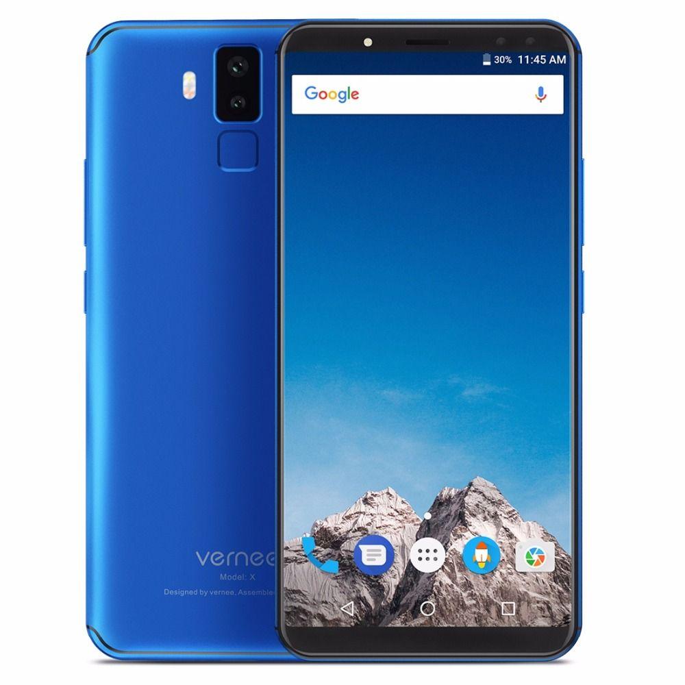 vernee X1 6GB RAM 64GB ROM Mobile Phone 6.0